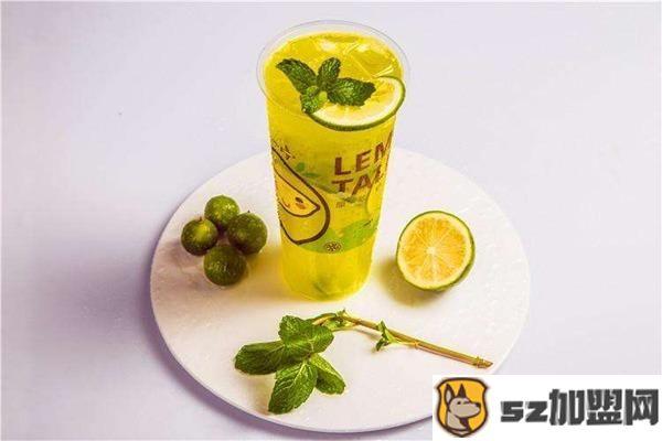 柠檬达人饮品产品图