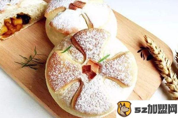 苹果花园面包