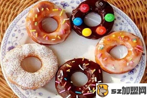 甜甜圈产品图