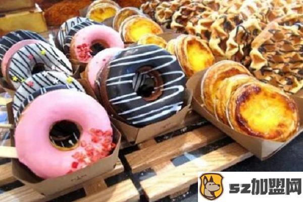 甜甜圈美食图