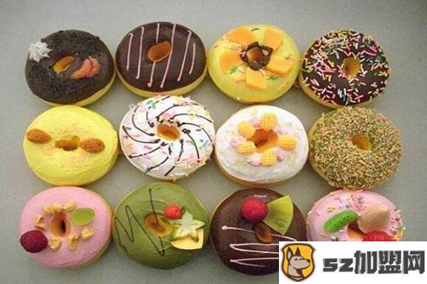甜甜圈种类图