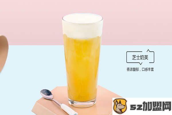 菠萝蜜奶茶产品图片