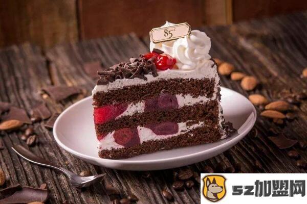 85度c巧克力蛋糕