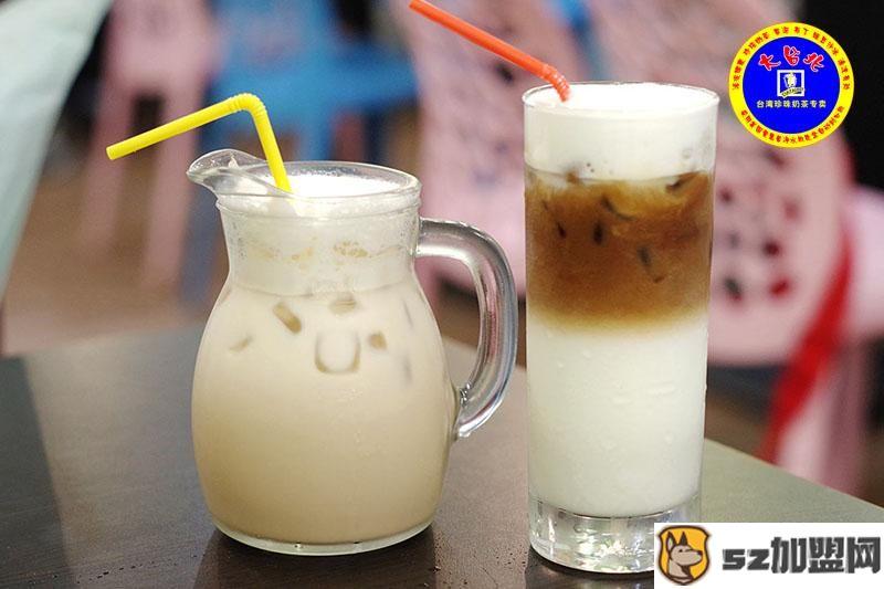 大台北奶茶产品图4