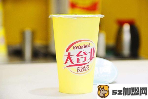 大台北奶茶产品图3